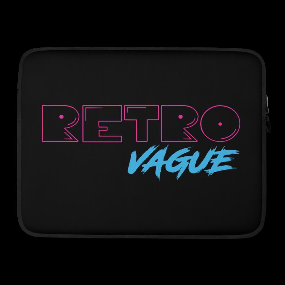 Retro Neon Laptop Sleeve