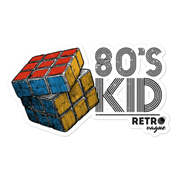 80's Kid Sticker