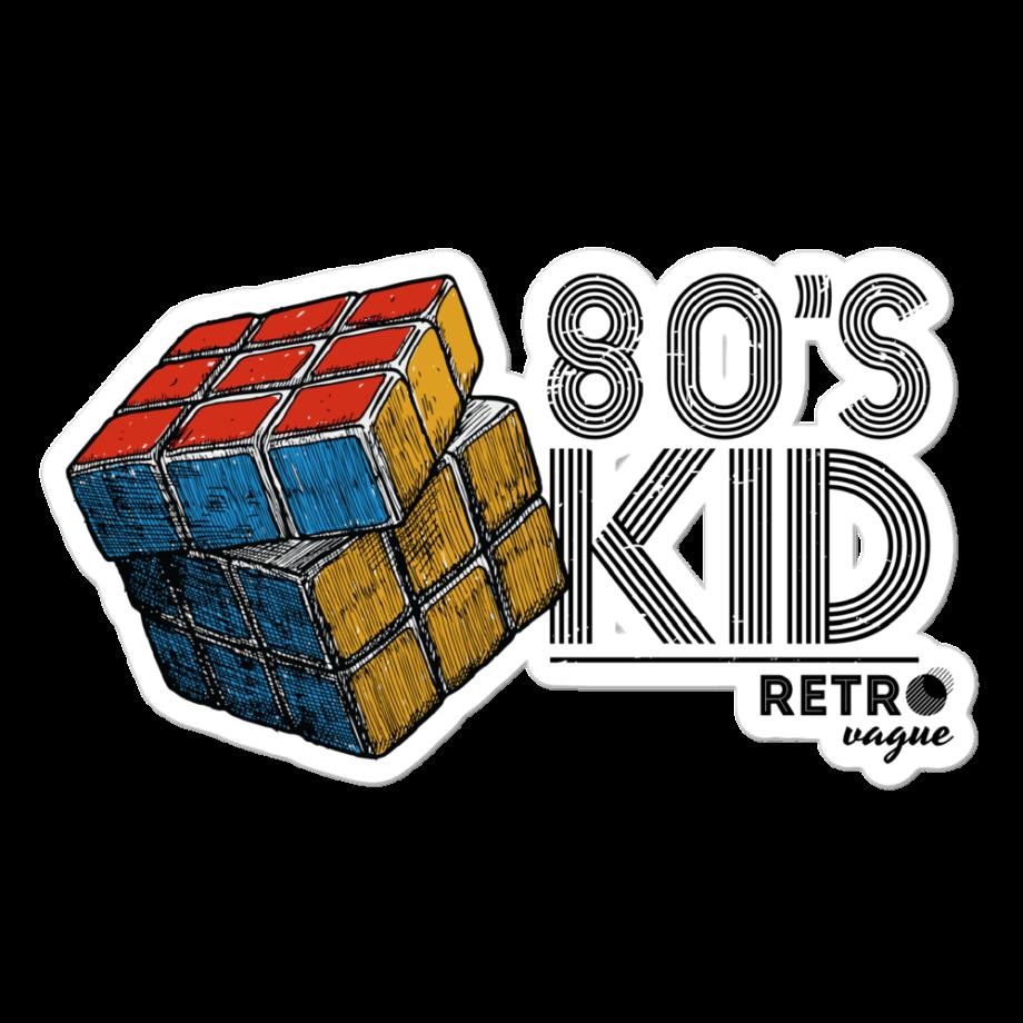 80's Kid Sticker
