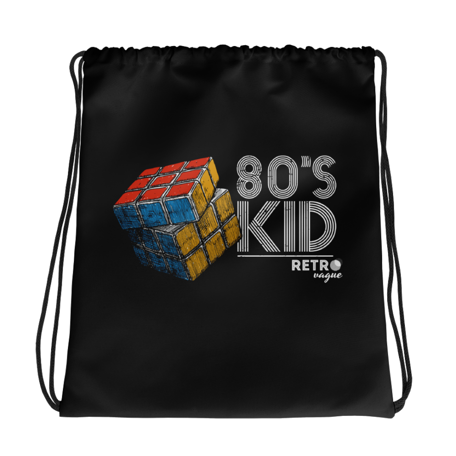 80's Kid Drawstring Bag