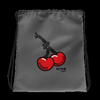 Cherry Bomb Drawstring Bag